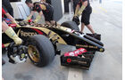 Formel 1, Lotus E22, Romain Grosjean, Bahrain, Test, Tag 1