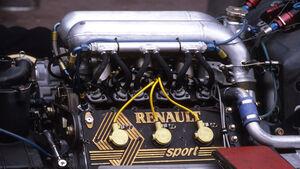 Formel 1-Motor V6 Renault 1985