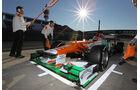 Formel 1-Test, Jerez, 8.2.2012, Jules Bianci, Force India