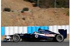 Formel 1-Test, Jerez, 8.2.2012, Pastor Maldonado, Williams