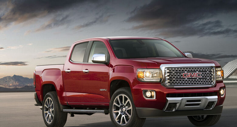 GMC Canyon Pickup Denali 2016