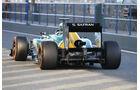 Giedo van der Garde - Caterham - Formel 1 - Test - Jerez - 5. Februar 2013