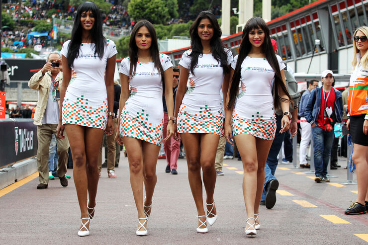 Girls - Formel 1 - GP Monaco - 26. Mai 2013