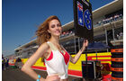 Girls Formel 1 GP USA 2012