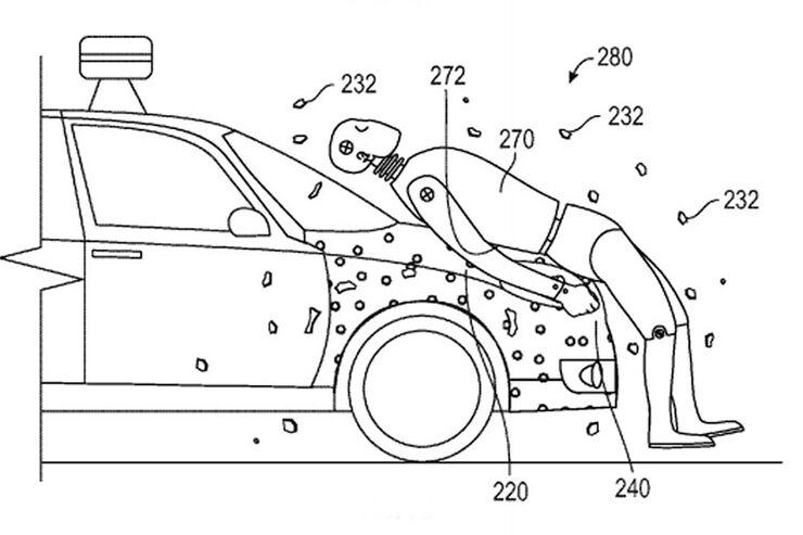 Seltsames Google-Patent