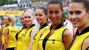 Grid Girls - GP Ungarn 2015 - Budapest
