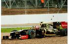 Grosjean GP England F1 Crashs 2012