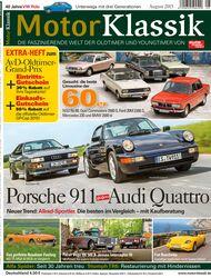 Heftinhalt Motor Klassik 08/2015