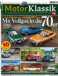 Hefttitel Motor Klassik 06/2015