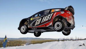 Henning Solberg Rallye Schweden 2012 WRC