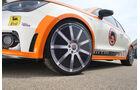 Highspeed-Test, Nardo, ams1511, 391km/h, MTM Audi A1, Vorderrad, Felge