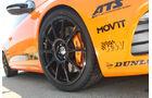 Highspeed-Test, Nardo, ams1511, 391km/h, Mathilda VW Scirocco R, Vorderrad, Felge