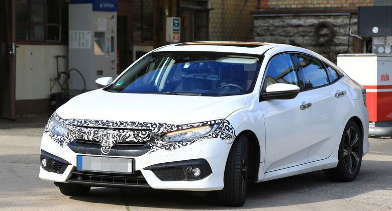 Honda Civic Erlkönig