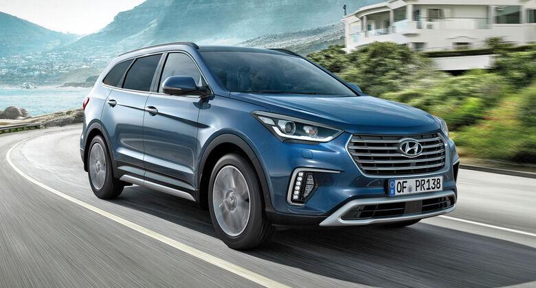 Hyundai Grand Santa Fe Facelift 2016