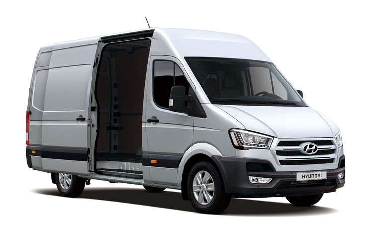 hyundai h350 auf der nutzfahrzeug iaa korea transporter. Black Bedroom Furniture Sets. Home Design Ideas