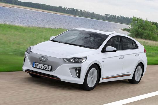 Hyundai Ioniq Electric, Frontansicht