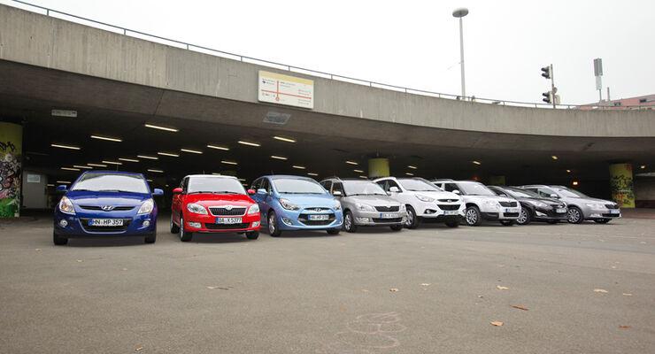 Hyundai, Skoda