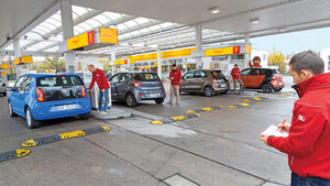 Hyundai i10, Renault Twingo, Smart Forfour, VW Up