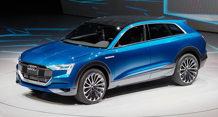 Tron Quattro Concept auf der IAA: Erster Ausblick auf den Audi Q6 ...