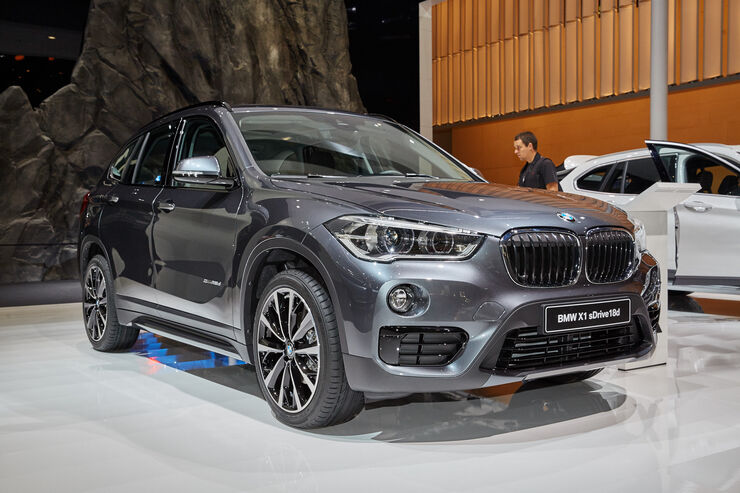 neuer bmw x1 2015 premiere auf iaa auto motor und sport. Black Bedroom Furniture Sets. Home Design Ideas
