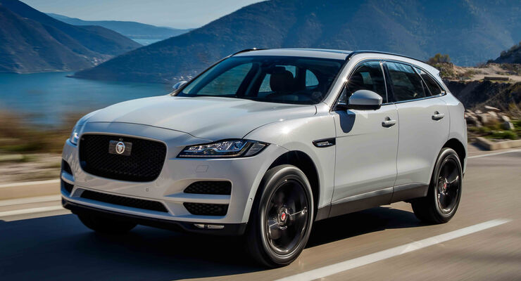 jaguar f pace im fahrbericht auto motor und sport. Black Bedroom Furniture Sets. Home Design Ideas