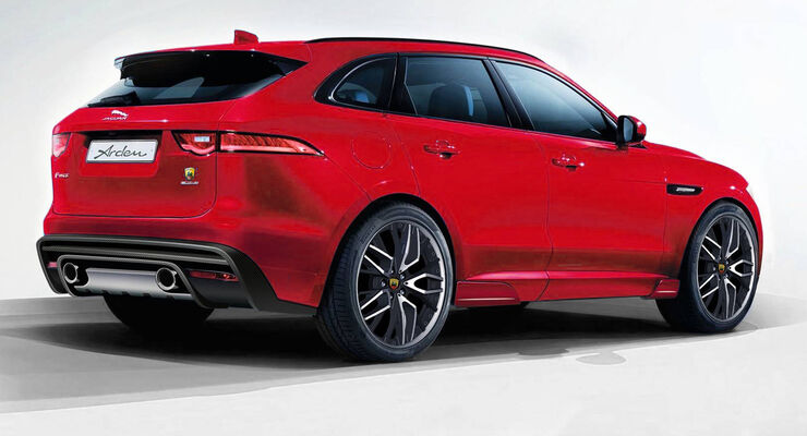 jaguar f pace arden pr sentiert neue teile auto motor. Black Bedroom Furniture Sets. Home Design Ideas