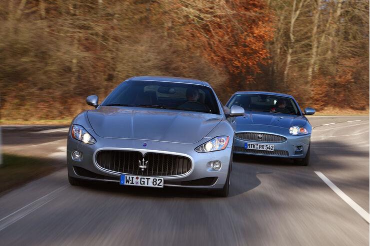 Jaguar XKR, Maserati Gran Turismo 01