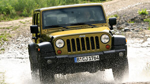 Jeep Wrangler 2.8 CRD, Frontansicht