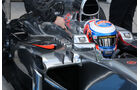 Jenson Button - McLaren - Formel 1 - Jerez - Test - 29. Januar 2014