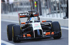 Jolyon Palmer - Force India - Formel 1 Test - Abu Dhabi - 25. November 2014