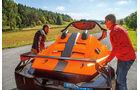 KTM X-Bow GT4, Abdeckung