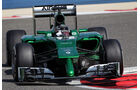 Kamui Kobayashi - Caterham - Formel 1 - Bahrain - Test - 20. Februar 2014