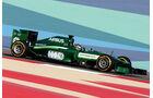 Kamui Kobayashi - Caterham - Formel 1 - GP Bahrain - Sakhir - 5. April 2014