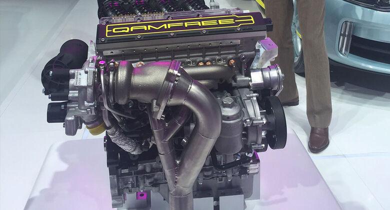 Koenigsegg Freevalve Qamfree-Motor