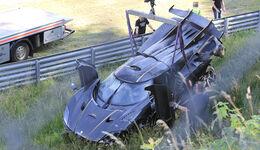 Koenigsegg One:1 Crash Nürburgring Unfall