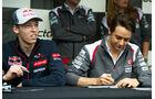 Kvyat & Gutierrez - Formel 1 - GP Kanada - Montreal - 5. Juni 2014