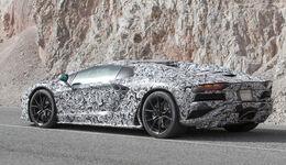 Lamborghini Aventador Erlkönig