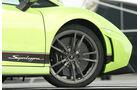 Lamborghini Gallardo LP 570-4 Superleggera, Vorderrad, Felge, Keramikbremse