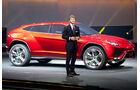 Lamborghini Urus und Stephan Winkelmann