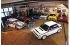 Lancia Delta HF integrale, Garage