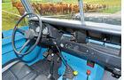 Land Rover 109, Cockpit