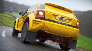Land Rover Bowler EXR-S, Heckansicht
