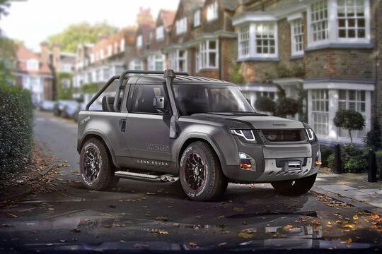 Land Rover Defender 2017 Design Concept