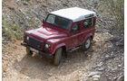 Land Rover Defender 90 TD4 SW, Draufsicht