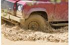 Land Rover Defender 90 TD4 SW, Rad, Felge, Wasserdurchfahrt