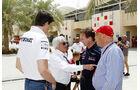 Lauda, Wolff, Ecclestone & Horner - Formel 1