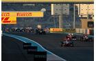 Lewis Hamilton GP Abu Dhabi 2011