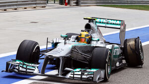 Lewis Hamilton GP Bahrain 2013