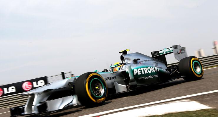 Lewis Hamilton GP China 2013