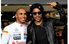 Lewis Hamilton & Lenny Kravitz - GP Australien - Melbourne - 16. März 2012
